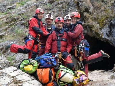 Echipa Expeditiei Pinargozu 2016